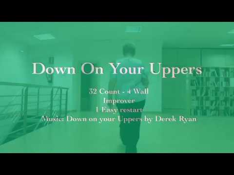 Down On Your Uppers Line Dance