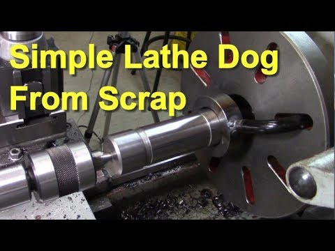 Making a Simple Lathe Dog from Scrap