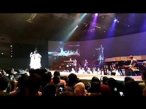 Konser Andien Metamorfosa 15 tahun JCC, Jakarta Convention Center