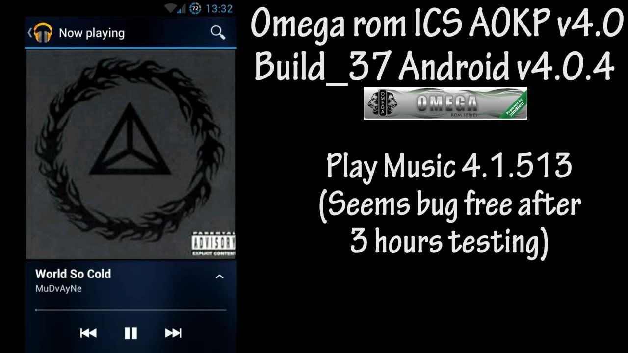 Samsung Galaxy S II GT-I9100 Omega rom ICS AOKP v4.0 Build ...
