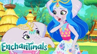 Enchantimals 🌈Tales From Everwilde: Jumpin' Junglewood 🐘 💜Episode 20 💜Videos For Kids