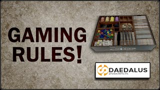 Gaming Rules! presents Mage Knight box insert