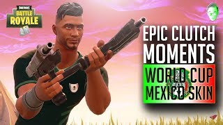 "EPIC CLUTCH MOMENTS in Fortnite! ""IS THIS A NINJA STREAM?!"" 