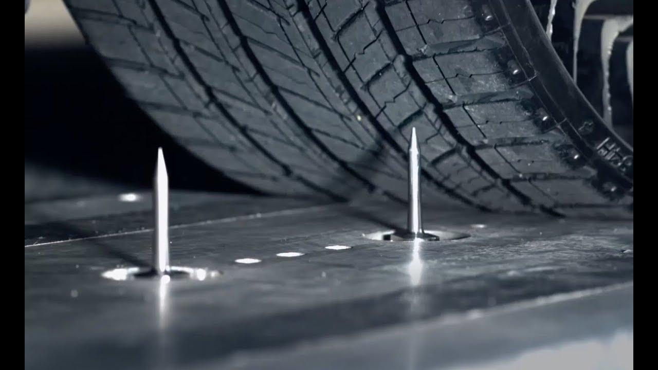 Cómo son los nuevos neumáticos SIN AIRE de Michelin.