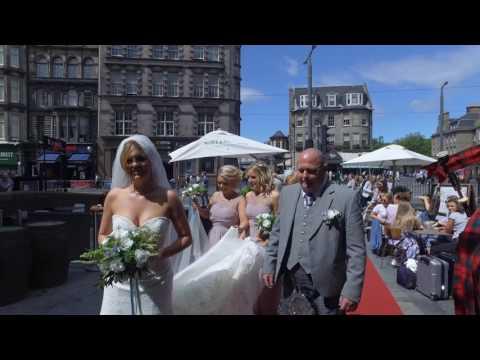 Kathleen & Stuart's Wedding Video Ghillie  Dhu. Edinburgh