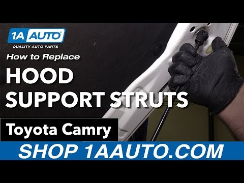 How to Replace Install Hood Support Struts 200711 Toyota Camry