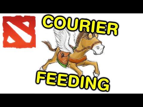 6K MMR COURIER FEEDING (Dota 2 Trolling)