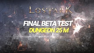 Lost ark - Dungeon 25 level & Hard difficulty