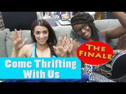 Goodwill Centennial The Dressing Room Finale Come Thrifting With Us #ThriftersAnonymous