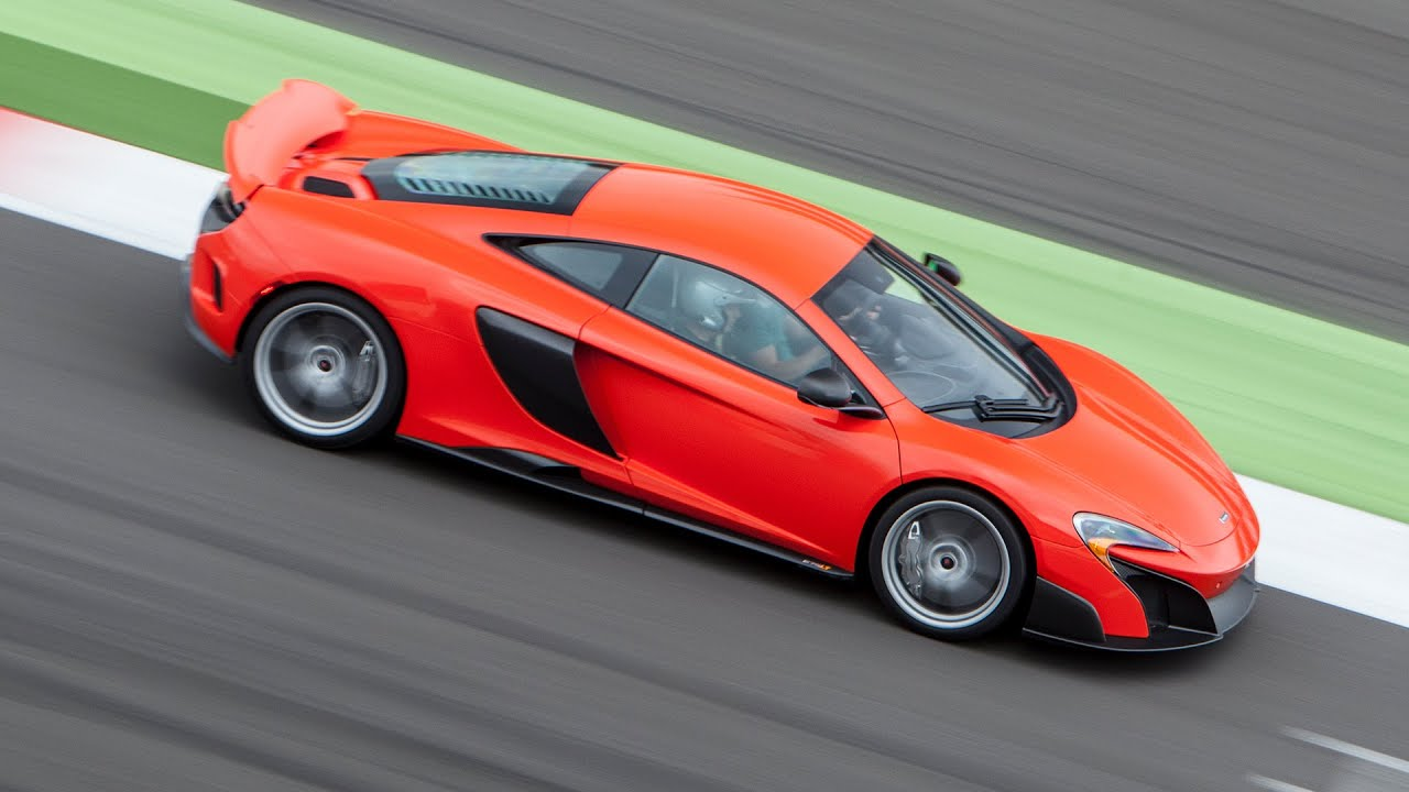 McLaren 675LT New 666bhp supercar driven on road and track