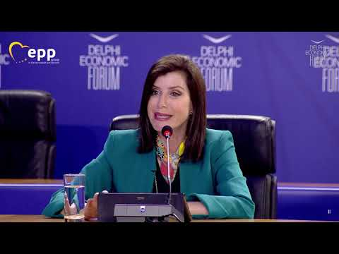 Anna Michelle Asimakopoulou | Delphi Economic Forum: Trade Policy, post-covid recovery & grow