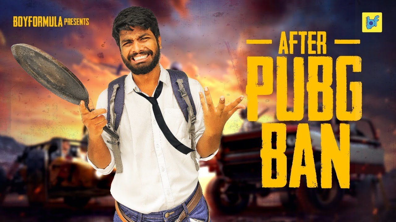 BOYS AFTER PUBG BAN | #PUBGBAN | Boy Formula | ChaiBisket