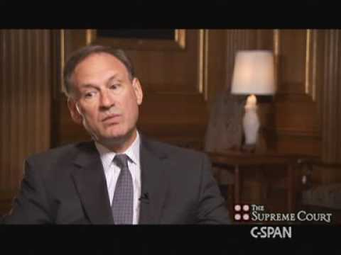 Justice Alito Interviews for the Job