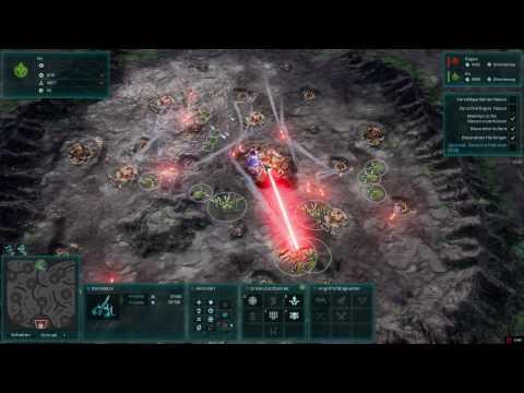Ashes of the Singularity Escalation Gameplay Galaktischer Krieg Part 4 |