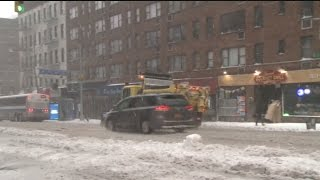 Blizzard Shuts Down Schools, Grounds Flights in New York City