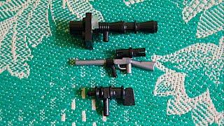 Собираем оружия из Lego (самоделка № 3)