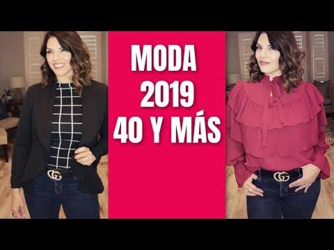 Moda Que Podremos Seguir Usando En 2019 | Mujeres 40 Años Y Más