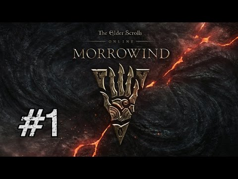 Let's Play Elder Scrolls Online: Morrowind BLIND [Part 1] MORROWINDS BACK!