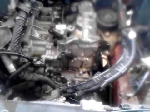 07 nissan altima cvt transmission removal part 1 - YouTube