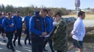 Збірна України: передостанній день зборів та автограф-сесія