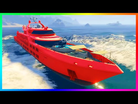 GTA 5 DLC $100,000,000 SPENDING SPREE – BUYING ALL YACHTS, M