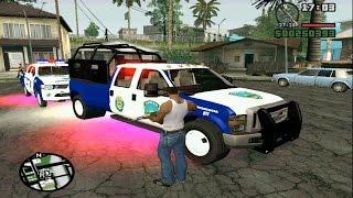 Gta San Andreas Policía Honduras Mod Full HD