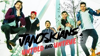 Janoskians Untold and Untrue Official Trailer out NOW!