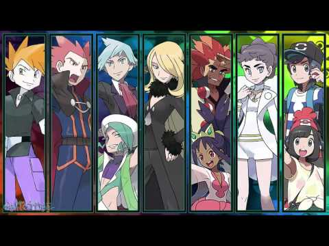 All Pokémon Champion Battle Themes [GEN 1-7]