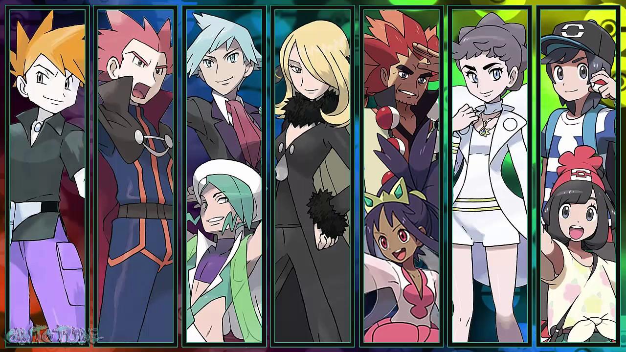 All Pokémon Champion Battle Themes [GEN 1-7]