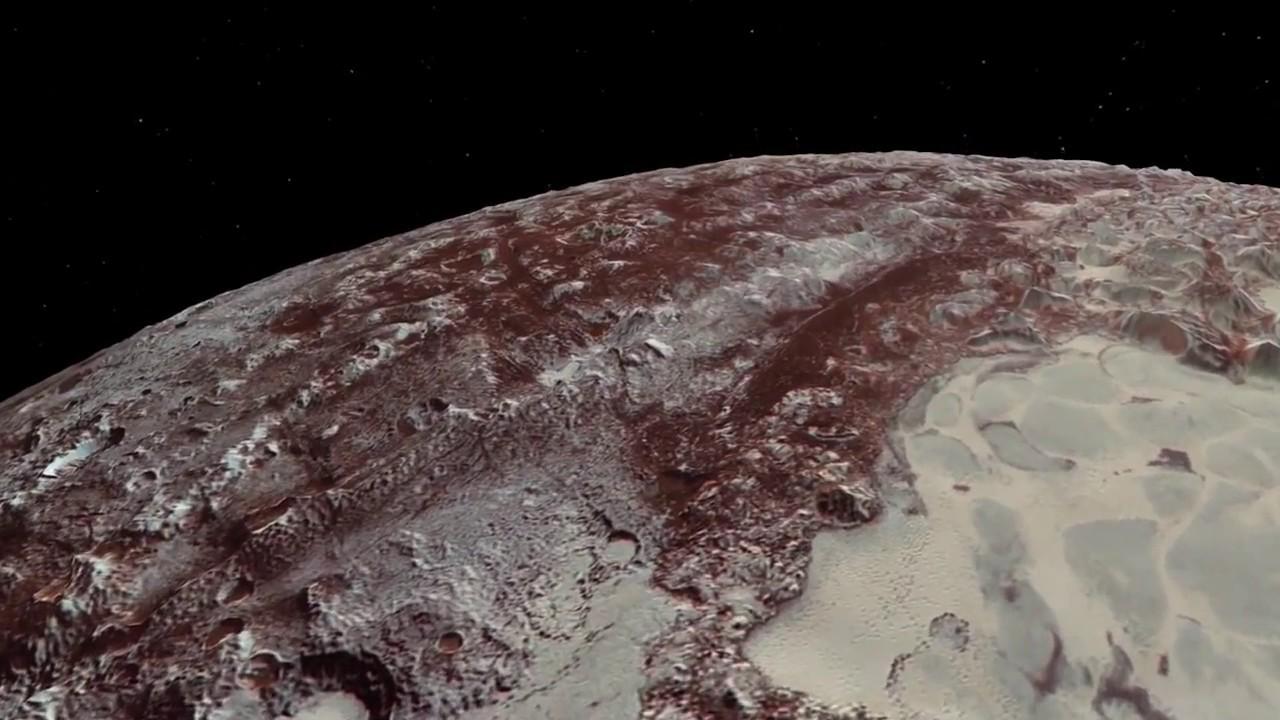 Kerberos Moon Of Plluto: Pluto Flyover From New Horizons
