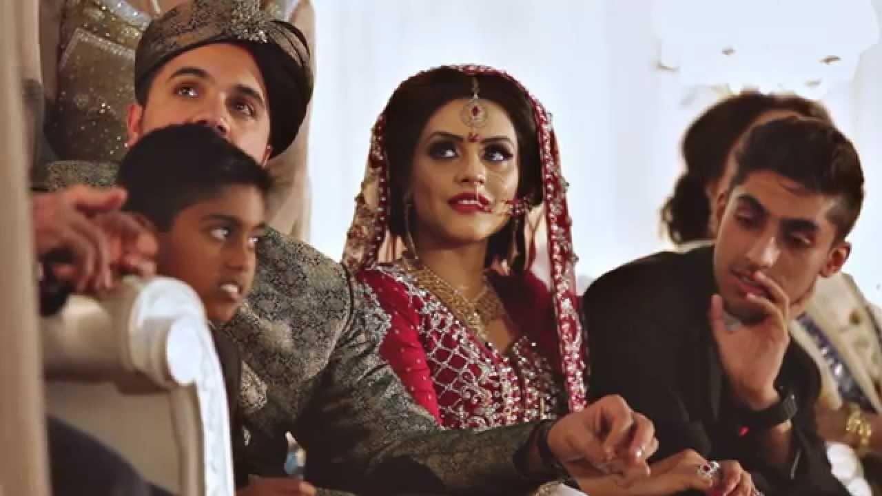 Aniqa Amar O Asian Wedding Cinematography Rochdale Town Hall Highlights