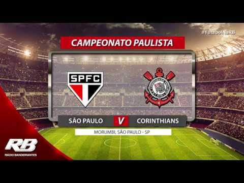 ?São Paulo x Corinthians - Campeonato Paulista - 15/02/2020 - AO VIVO