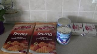 ТОРТ ПОЛЕНО(очень похож на торт наполеон)