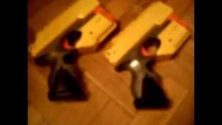 Review Nerf N-Strike Scout IX-3 En Español