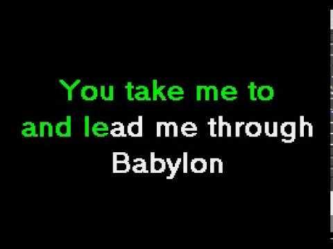 Depeche Mode - I Feel You - Karaoke