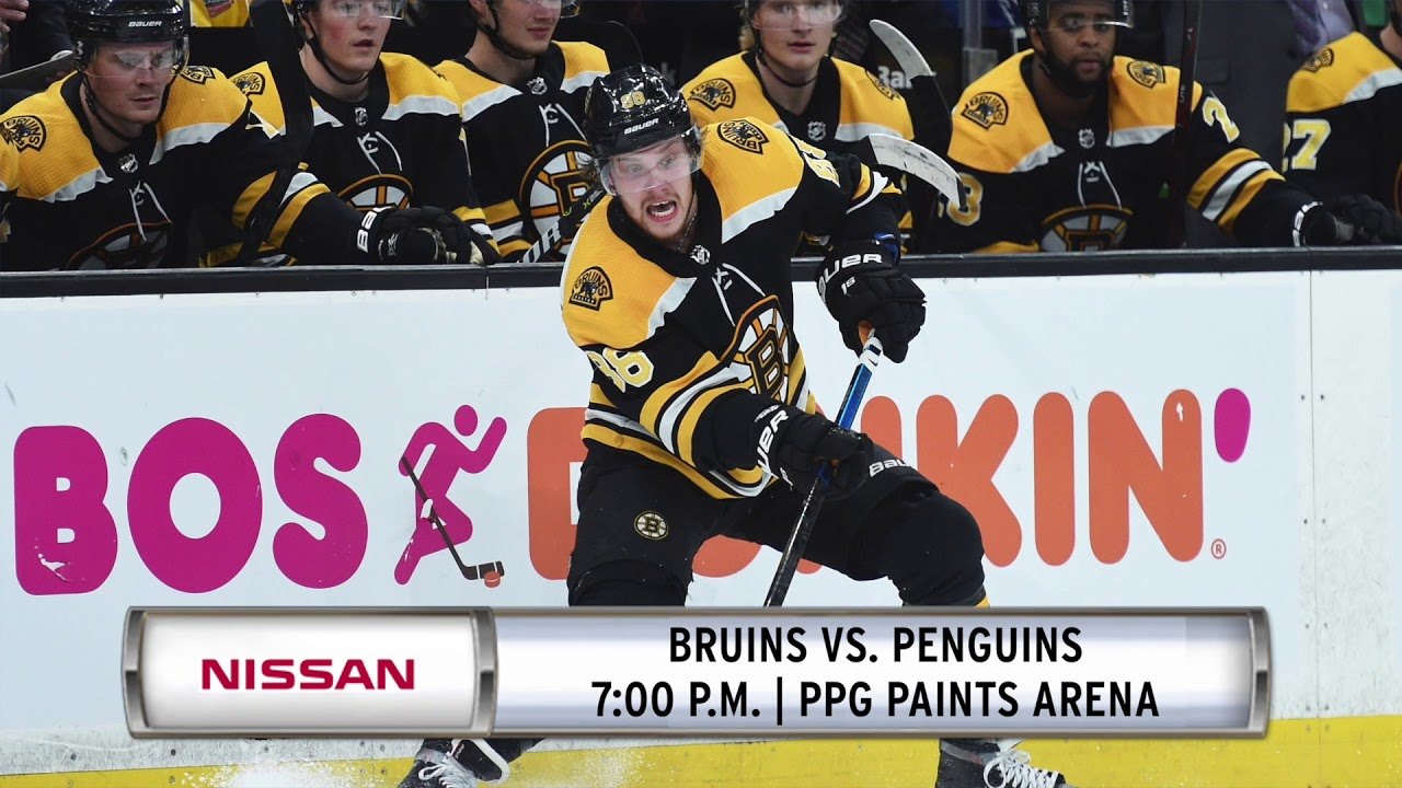 Nissan Morning Drive: Bruins Go For Fourth Win In A Row Against Penguins