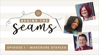 The Great British Seẁing Bee   Behind The Seams   Series 7 Ep 1 - Wardrobe Staples