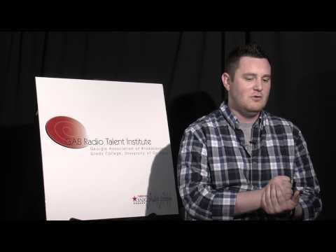 2014 GAB Radio Institute: Brendan Croghan