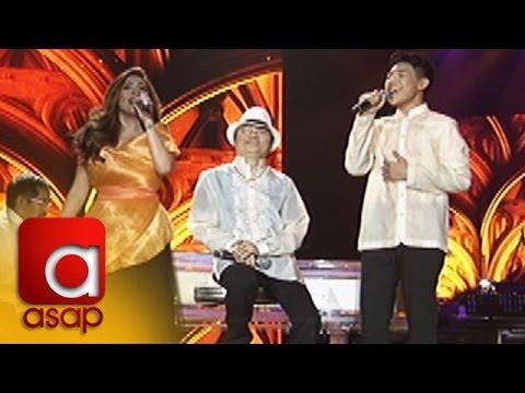 ASAP: Angeline Quinto and Darren Espanto sing 'Umiiyak Ang Puso'