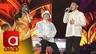 ASAP: Angeline Quinto and Darren Espanto sing