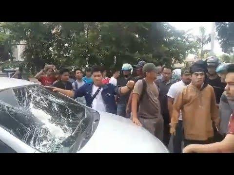 Rombongan Kirab Satu Negeri (KSN) Gp Ansor Banser Di Hadang Masyarakat di Bengkalis