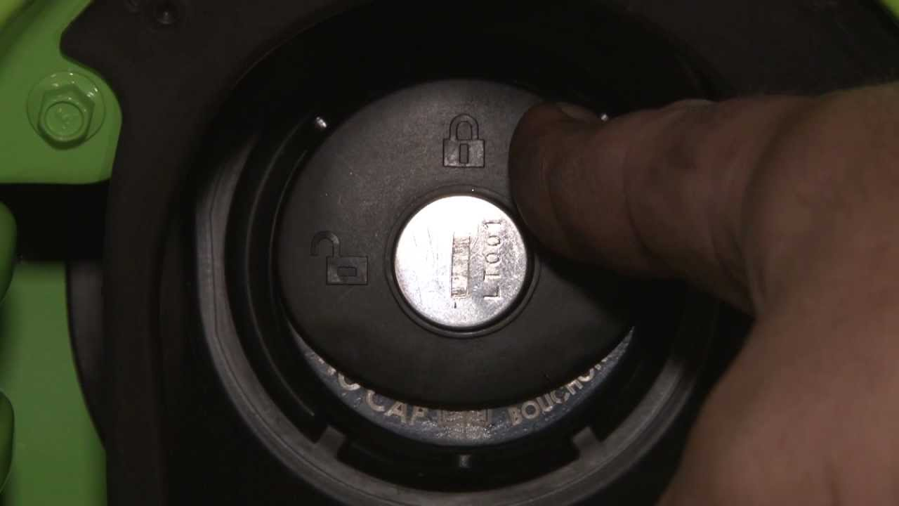 Check Fuel Fill Inlet >> Mustang Locking Gas Cap Installation 2010-2014 - YouTube