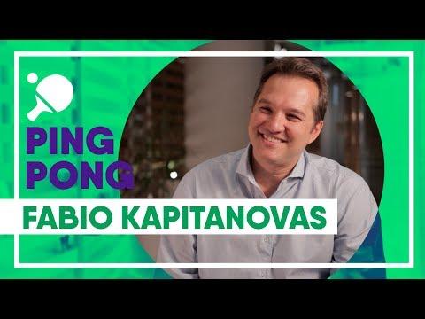 Ping Pong com Fabio Kapitanovas VP de Gente e Gestão na Ambev - Carreira e conselhos para o jovem