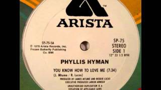 Phyllis Hyman -- You Know How To Love Me
