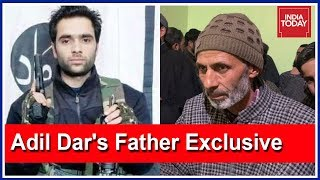 Exclusive : Father Of Pulwama Attacker, Adil Dar Speaks To India Today