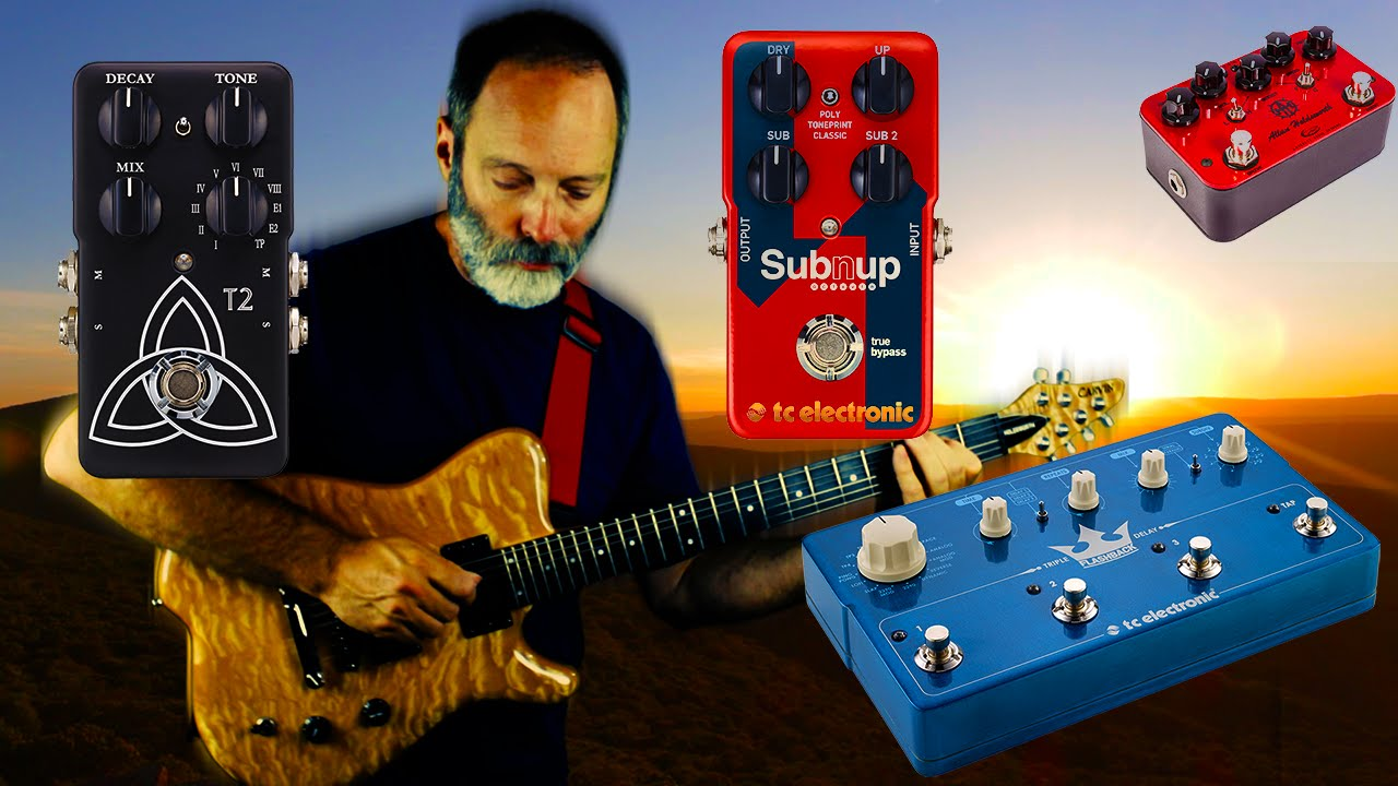 ambient guitar effects walkthrough tutorial 2 tc electronic sub n up triple delay t2 youtube. Black Bedroom Furniture Sets. Home Design Ideas