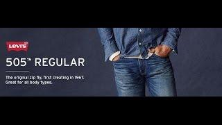 видео Мужские джинсы Levis