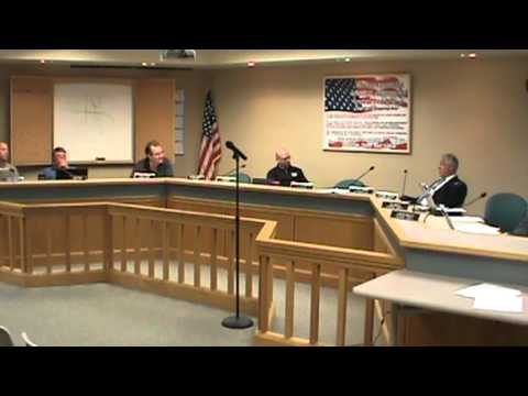 Centralia MO Public Safety and General Government Committee Meeting 11/13/2012