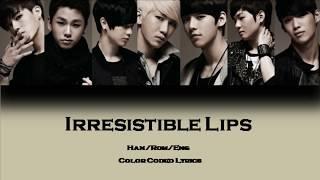 BTOB Irresistible Lips LYRICS COLOR CODED HAN ROM ENG