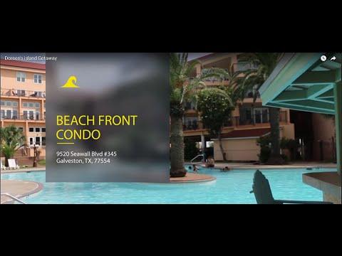 Vacation Condo Gulf View Beach Front Galveston Rental Condo